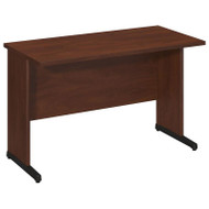 "Bush Business Furniture Series C Elite Desk 48"" x 24"" Hansen Cherry -  WC24549"