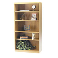 Mayline Aberdeen Bookcase 5-Shelf Maple - AB5S36-LMA