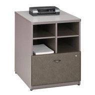 "Bush Business Furniture Series A Storage Cabinet 24"" Pewter - WC14523P"