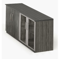 Mayline Medina Laminate Low Wall Cabinet Gray Steel - MVLC-LGS