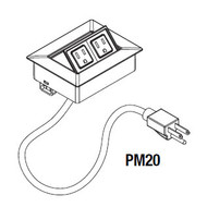 Mayline Power/Data Module - PM20