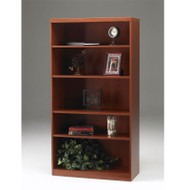Mayline Aberdeen Bookcase 5-Shelf Cherry Finish - AB5S36-LCR