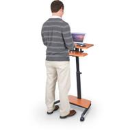 Balt Up-Rite Workstation Height Adjustable Sit-Stand Desk - 90459