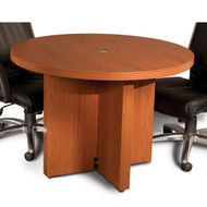 "Mayline Aberdeen Conference Table Round 42"" Cherry Finish - ACTR42-LCR"
