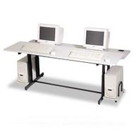 "Balt Split-level Computer Training Table 72""  - 83080"