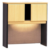 "Bush Business Furniture Series A Hutch 36"" Beech - WC14337P"