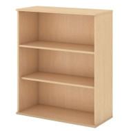 """Bush Business Furniture Bookcase 48""""H 3-Shelf Natural Maple -  BK4836AC"""