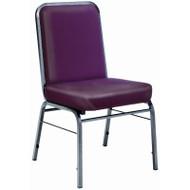 OFM ComfortClass Vinyl Stacking Chair 4 pack - 300-SV-VAM-4PK
