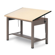 "Mayline Ranger Steel Four-Post Drawing Table 60"" - 7736"