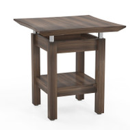Mayline Sterling Series End Table, Textured Brown Sugar - STET-TBS