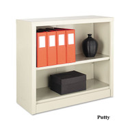 Tennsco Steel Bookcase 2-Shelves - B30PY