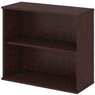 "Bush Business Furniture Bookcase 30""H 2-Shelf Harvest Cherry - BK3036CS"