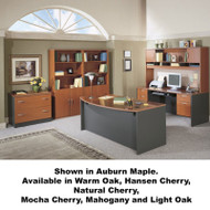 Bush Business Furniture Series C Package Executive Bowfront Desk - SC6A