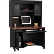 Bush Stanford Collection Computer Desk with Hutch Package - WC53918-19