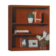Mayline Aberdeen Bookcase 3-Shelf Cherry Finish - AB3S36-LCR