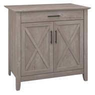 Bush Key West Laptop Storage Credenza - KWS132WG-03