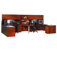 Mayline Aberdeen Executive Desk Package Cherry - AT92-LCR