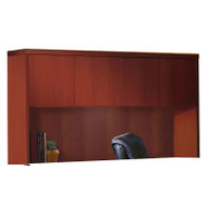 "Mayline Aberdeen Hutch with Wood Doors 72"" Cherry Finish - AHW72-LCR"