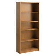 "Bush Envoy Series  Bookcase 30""W 5-Shelf Natural Cherry - PR76365"