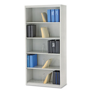 HON Brigade 600 Series Jumbo Open Shelf Steel File Legal 5-Shelf - J625CN