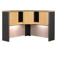 "Bush Business Furniture Series A Corner Hutch 48"" Beech - WC14367PK"