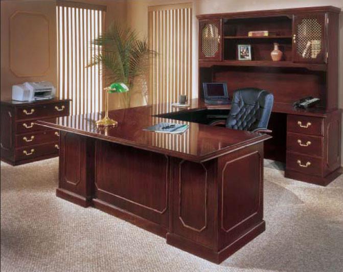 ... Executive Desk Workstation U Shaped Right   7350PACKAGEA. Image 1