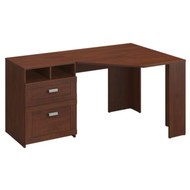 Bush Wheaton Collection Reversible Corner Desk in Hansen Cherry  - MY72813-3