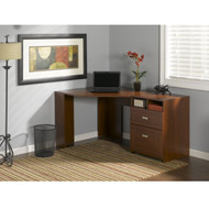 Bush Wheaton Collection Reversible Corner Desk in Hansen Cherry  - MY72813-3