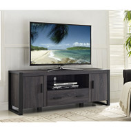 "Walker Edison Urban Blend 60"" TV Stand , Charcoal/Black - W60UBC22CL"