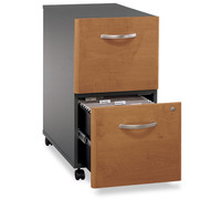 Bush Business Furniture Series C Mobile File Cabinet 2-Drawer Natural Cherry Assembled - WC72452SU