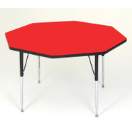 Correll High-Pressure Top Activity Table Octagonal Shape 48 - A48-OCT