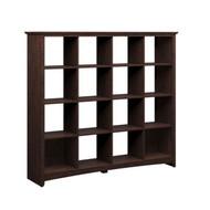 Bush Buena Vista 16-cube Bookcase/Room Divider in Madison Cherry  - MY13803-3