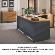 Bush Business Furniture Series C Package L-Shaped Desk with Lateral File - SC20