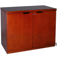 Mayline Mira Credenza, 2-Door Medium Cherry - MHDC3620-MC