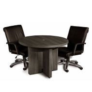 "Mayline Aberdeen Conference Table Round 42"" Gray Steel - ACTR42-LGS"