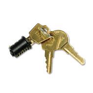 HON One-Key Core Removable Lock Kit, Black - F23BX