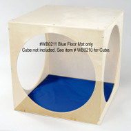 Whitney Brothers Royal Blue Floor Mat for the WB0210 Cube - WB0211