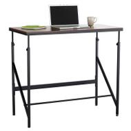 Safco Elevate Standing-Height Desk Walnut - 1957WL