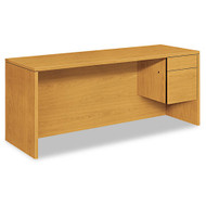 HON 10500 Series Single 3/4 Pedestal Credenza Right, Assembled - 10545RCC