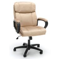 OFM Essentials Plush Mid Back Microfiber Office Chair Tan - ESS-3082-TAN