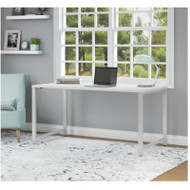 "Bush Business Furniture 400 Series Table Desk 60"" x 30"", White -  400S144WH"