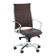 Eurotech by Raynor Europa Leather High Back Chair - LE811