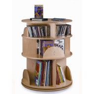 Whitney Brothers Three Level Carousel Media Center / Bookcase - WB0503