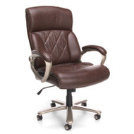 OFM Avenger Series Big & Tall Executive High Back Chair Brown- 812-LX