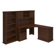 Bush Yorktown Corner Desk Package - YRK002ANC