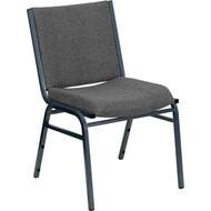 Flash Furniture HERCULES Series Heavy Duty Patterned Stack Chair Gray - XU-60153-GY-GG