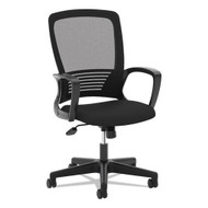 Basyx Mesh High-Back Task Chair Black - VL525ES10