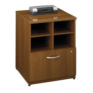 "Bush Business Furniture Series C Cabinet 24"" Warm Oak - WC67504"