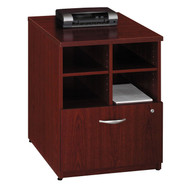 "Bush Business Furniture Series C Cabinet 24"" Mahogany - WC36704"