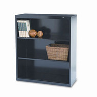 "Tennsco Bookcase 40"" 3-Shelf Metal - TNN-B-42"